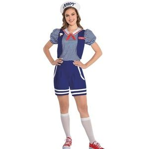 Stranger Things Scoops Ahoy Robin Costume-Medium